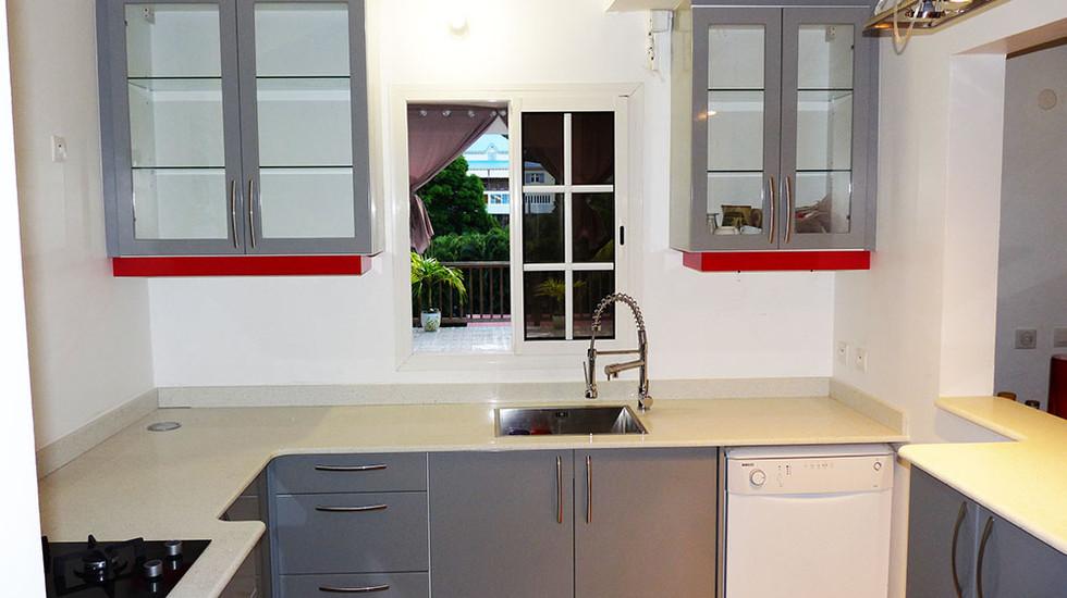 Cuisine 8 - NB designer - Agencement Interieur en Guadeloupe