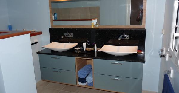 Salle de bain 5 - Nb Desginer- Agencement intérieur en Guadeloupe