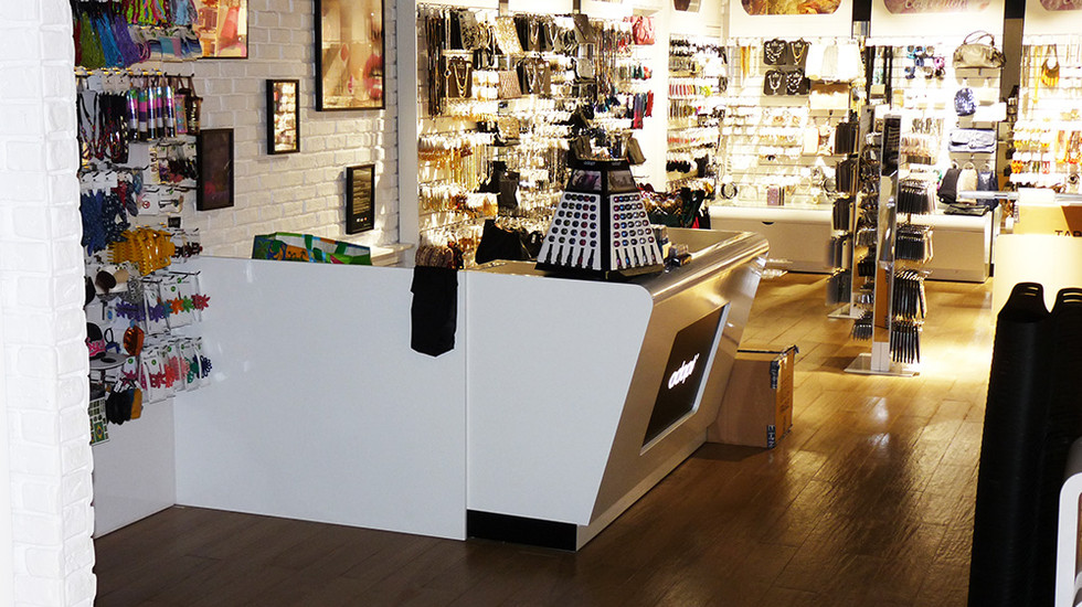 magasin 8 - agencement intérieur pour professionnels - nb designer - guadeloupe