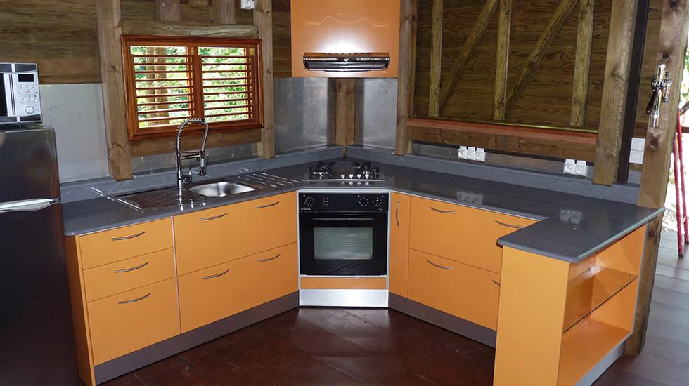 Cuisine 11 - NB designer - Agencement Interieur en Guadeloupe