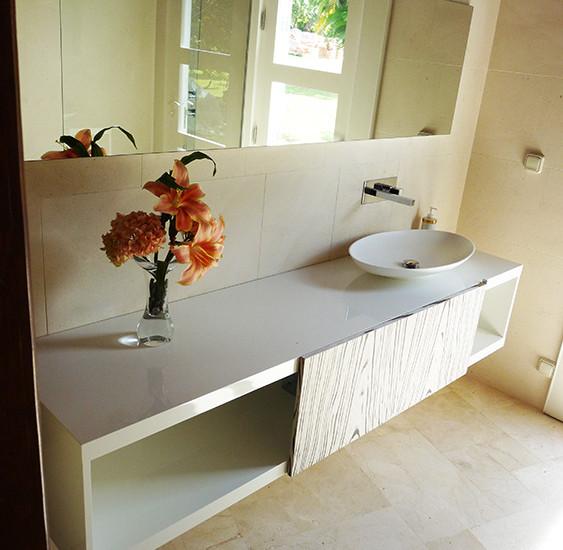 Salle de bain 9 - Nb Desginer- Agencement intérieur en Guadeloupe