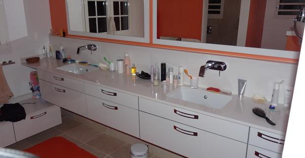 Salle de bain 8 - Nb Desginer- Agencement intérieur en Guadeloupe