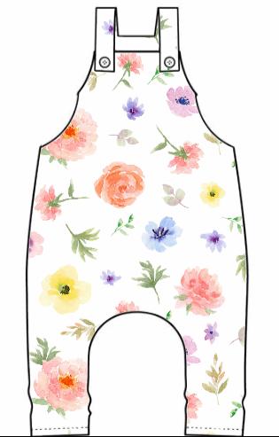 Flower & Bloom Dungarees