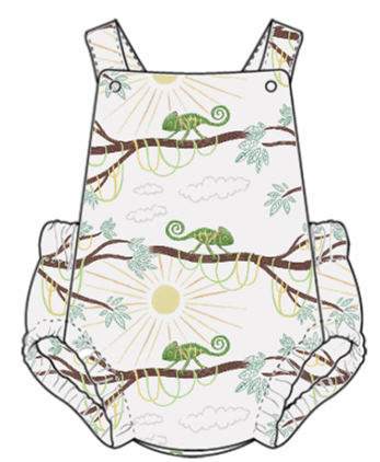 You're One In A Chameleon Summer Romper
