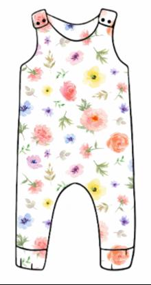Flower & Bloom Harem Romper