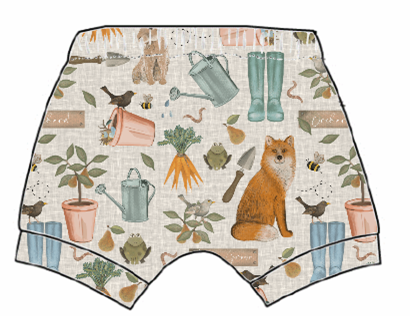 Down At The Bottom Of The Garden Shorts