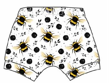 White Bee Shorts