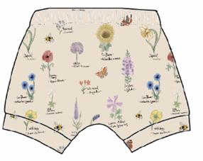 Botanical Flowers Shorts