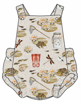 Pond Dipping Summer Romper