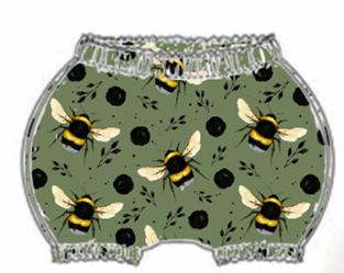 Green Bee Bloomers
