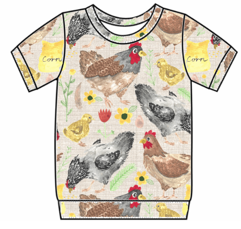 Lets Talk About Chickens Tee's