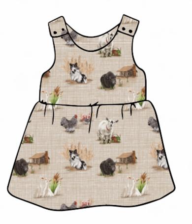 Home Farm Pinafore Dress