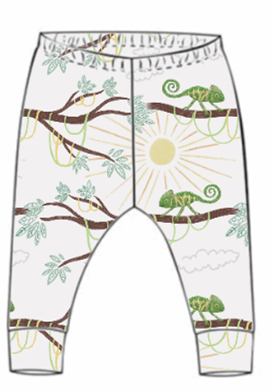 You're One In A Chameleon Leggings (From 18-24m)