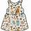 Thumbnail: Down At The Bottom Of The Garden Pinafore Dress