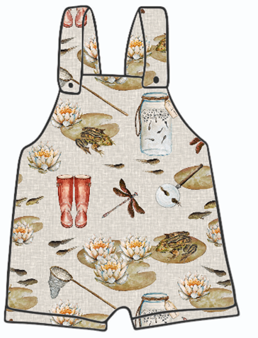 Pond Dipping Short Dungarees
