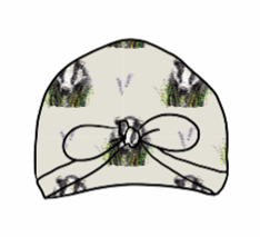 Brock grey White Turban