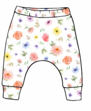 Flower & Bloom Slim Harem Leggings