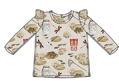 Pond Dipping Flutter Tee's