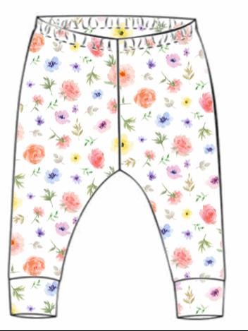 Flower & Bloom Leggings (From 18-24m)