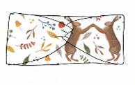 Dancing Hares Twist Headband