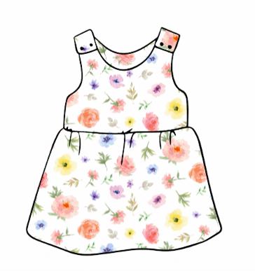 Flower & Bloom Pinafore Dress