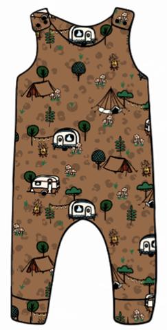 Wild Camping Harem Romper