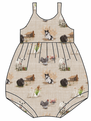 Home Farm Bubble Romper