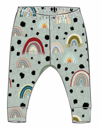 Rainbow Leggings (From 18-24m)