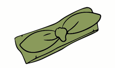 Moss Green Headband