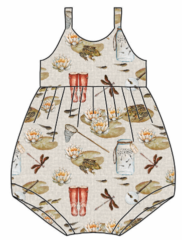 Pond Dipping Bubble Romper