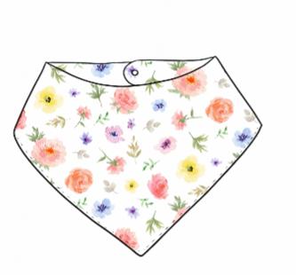 Flower & Bloom Bandana Bib