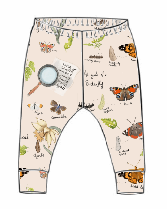 Butterfly Life Cycle Leggings (From 18-24m)