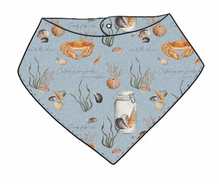 Sea Jewels Bandana Bib