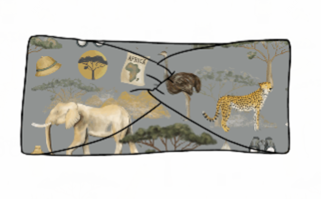 On Safari Twist Headband