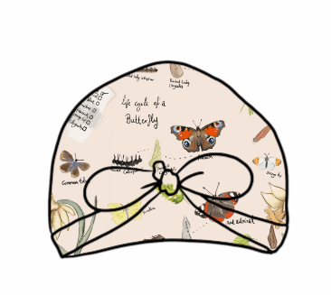 Butterfly Life Cycle Turban