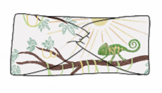 You're One In A Chameleon Twist Headband
