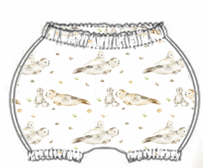 Seal & Pups Bloomers