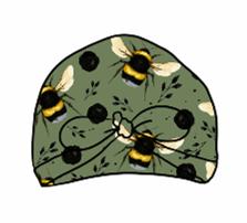 Green Bee Turban