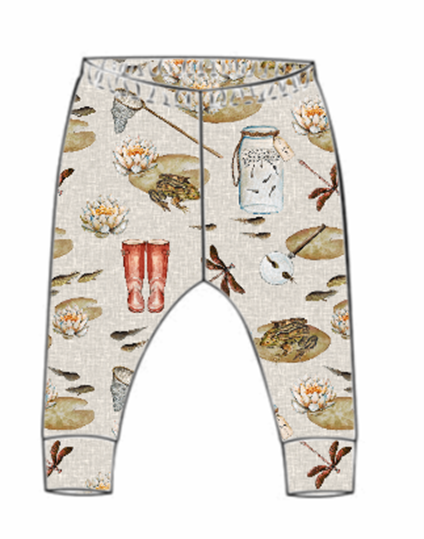 Pond Dipping Leggings (From 18-24m)
