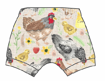 Lets Talk About Chickens Shorts