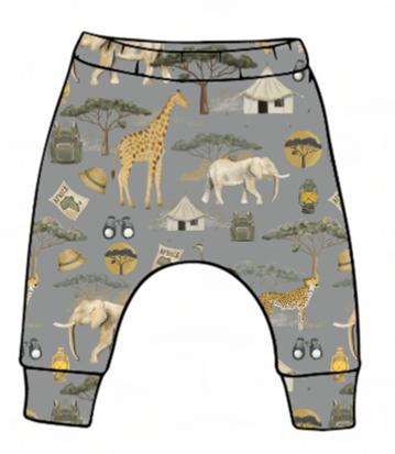 On Safari Slim Harem Leggings