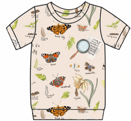 Butterfly Life Cycle Tee's
