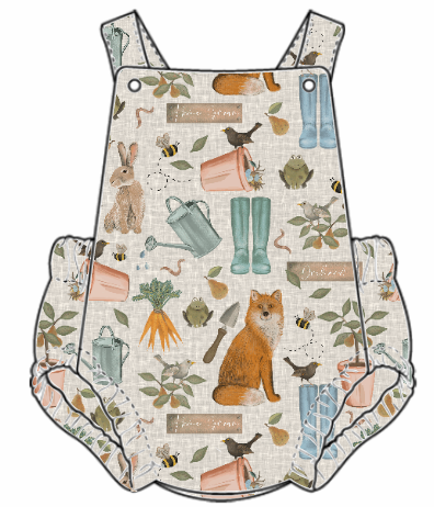 Down At The Bottom Of The Garden Summer Romper
