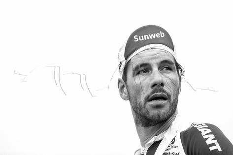 Portrait d'un cycliste