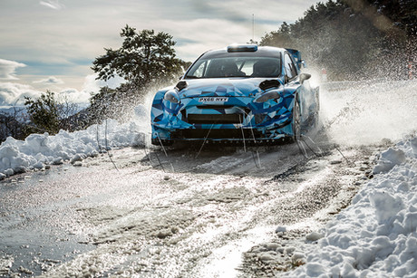 Tests Ford M-Sport - Eric Camilli