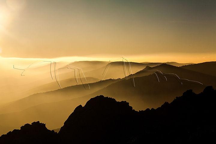 Photo horizon, pleine nature, paysage, épisode climatique, Hérault