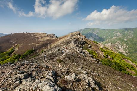 Trail sur le massif du Caroux