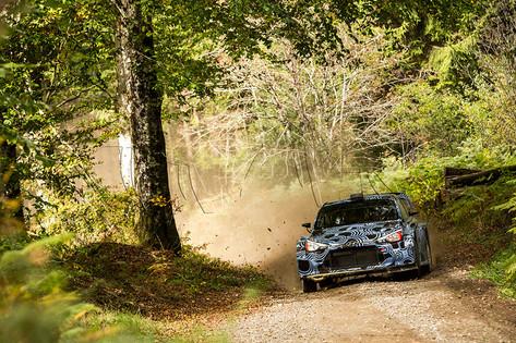 Tests Hyundaï Motorsport - Dani Sordo