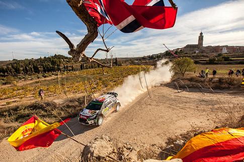 Rallye de Catalogne - Kris Meeke au départ de Terra Alta