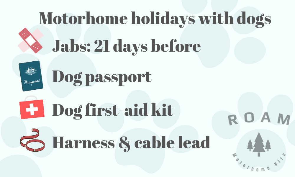 Motorhome holidays with dogs